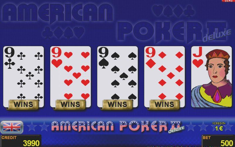 American Poker II deluxe (Coolfire) | NOVOMATIC ROMANIA